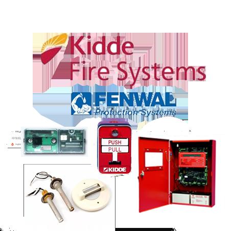 FENWAL / KIDDE. Detector de fuego - interruptores - thermo switches.