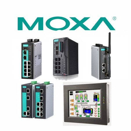 MOXA.  Enrutadores Seguros - PCs de panel - HIM - celularr routers.