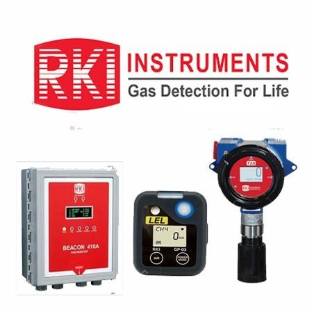 RKI INSTRUMENTS. Monitores de gases - probadores de fugas.