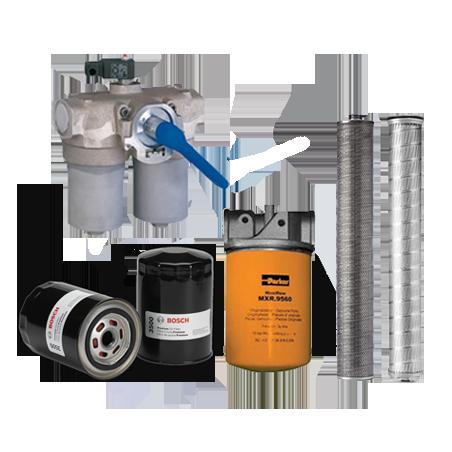 FILTROS IND.  Cartucho - coalescentes - hidráulicos - combustibles - aceite - aire