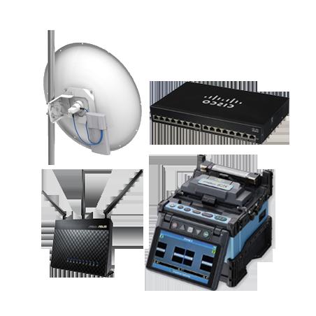 TELECOMUNICACIONES.  Antenas - T/Radios - routers - módems - fibra óptica